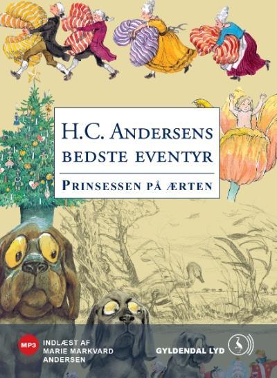 h.c. andersen Prinsessen på ærten (lydbog) fra bogreolen.dk