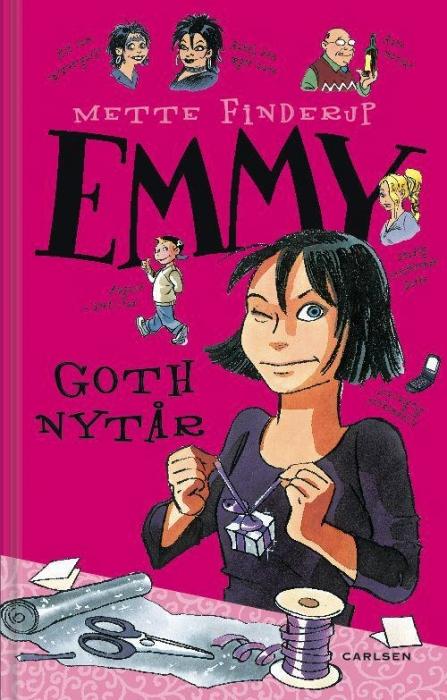mette finderup Emmy 5 - goth nytår (lydbog) fra bogreolen.dk
