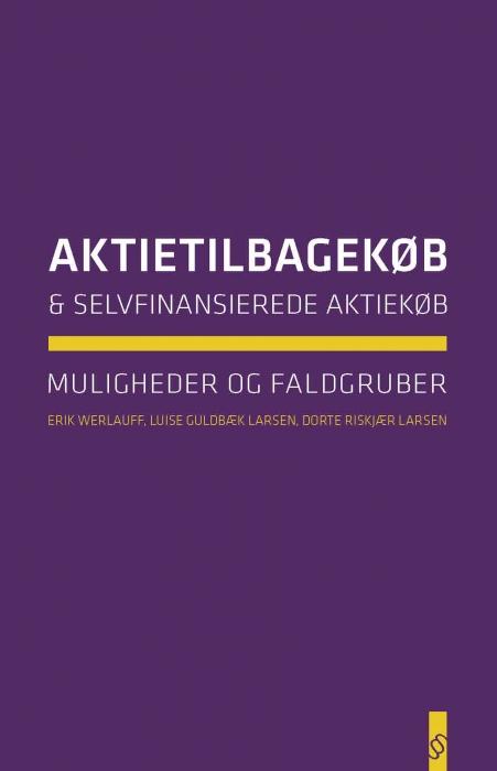 erik werlauff Aktietilbagekøb og selvfinansierede aktiekøb (e-bog) på tales.dk
