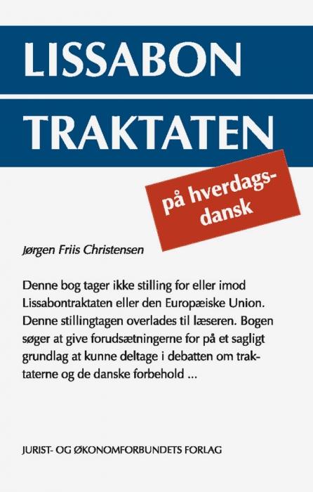 jørgen friis christensen Lissabon traktaten på hverdagsdansk (e-bog) fra tales.dk