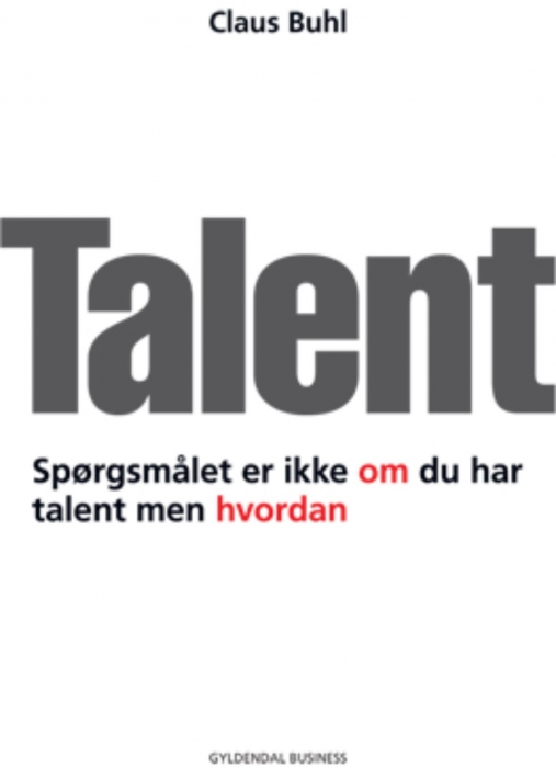 claus buhl – Talent (e-bog) på tales.dk