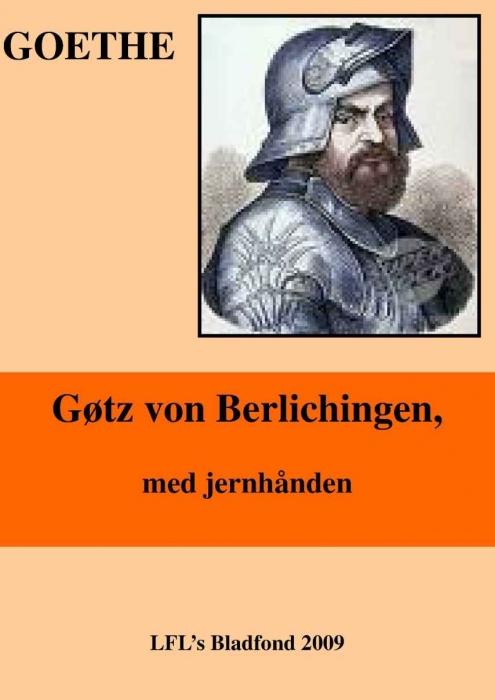 johann wolfgang goethe – Gøtz von berlichingen (e-bog) fra bogreolen.dk