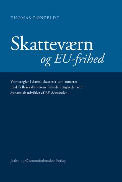 thomas rønfeldt Skatteværn og eu-frihed (e-bog) på tales.dk
