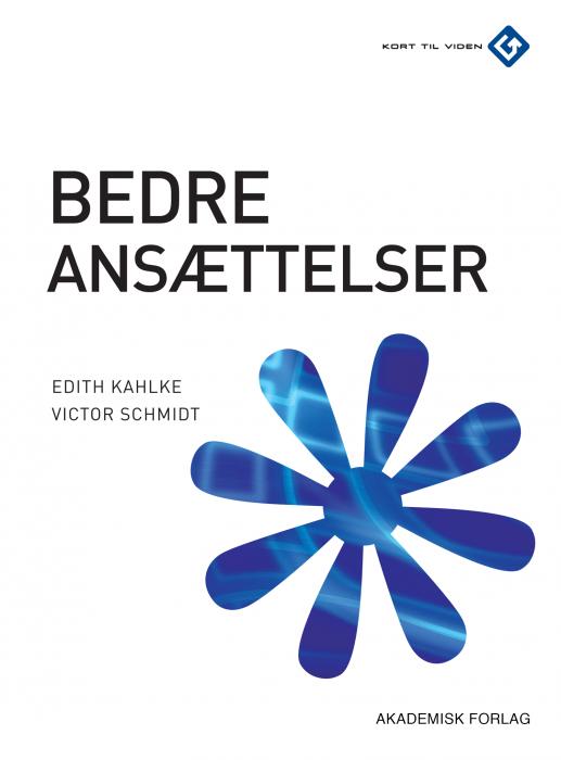 victor schmidt – Bedre ansættelser (e-bog) på bogreolen.dk