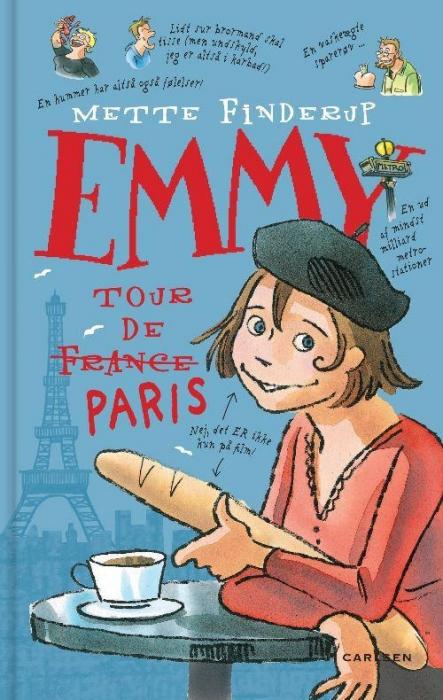 mette finderup Emmy 7 - tour de paris (lydbog) på tales.dk