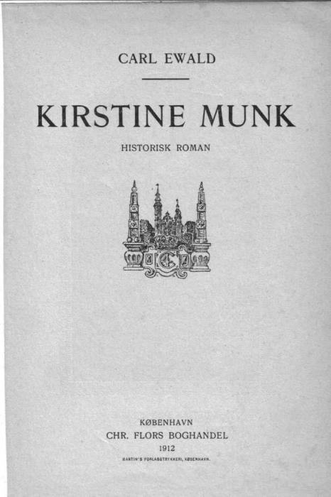 Kirstine munk (e-bog) fra carl ewald fra bogreolen.dk