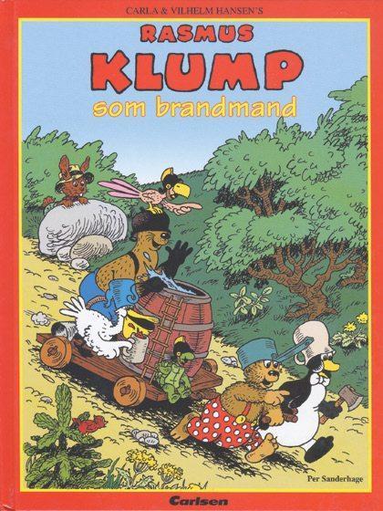 carla og vilh. hansen Rasmus klump 5 - rasmus klump som brandmand (lydbog) på bogreolen.dk