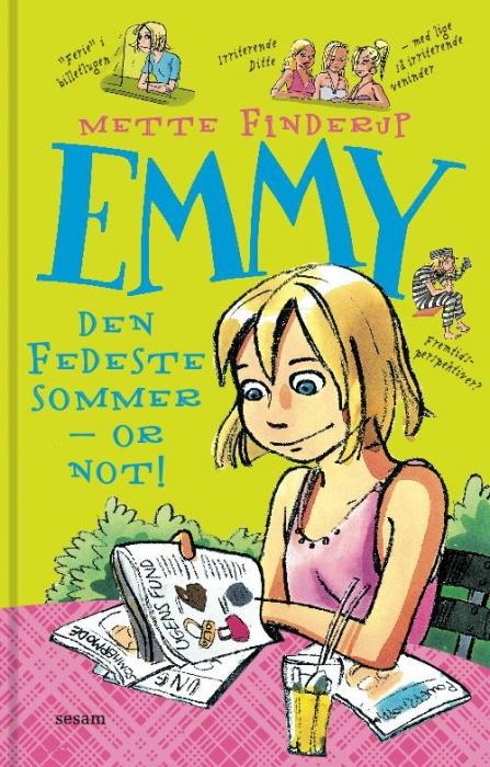 mette finderup Emmy 3 - den fedeste sommer - or not (e-bog) på bogreolen.dk