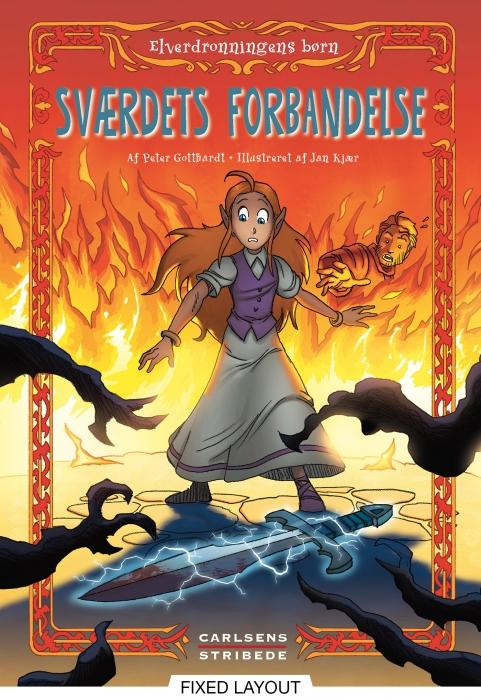 Elverdronningens børn 4: Sværdets forbandelse (E-bog)