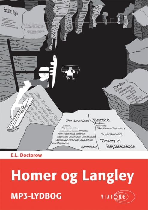 e.l. doctorow Homer og langley (lydbog) fra bogreolen.dk