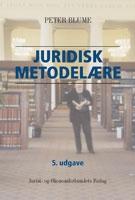 peter blume Juridisk metodelære (e-bog) på bogreolen.dk