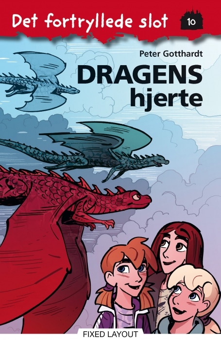 peter gotthardt Det fortryllede slot 10: dragens hjerte (e-bog) på bogreolen.dk