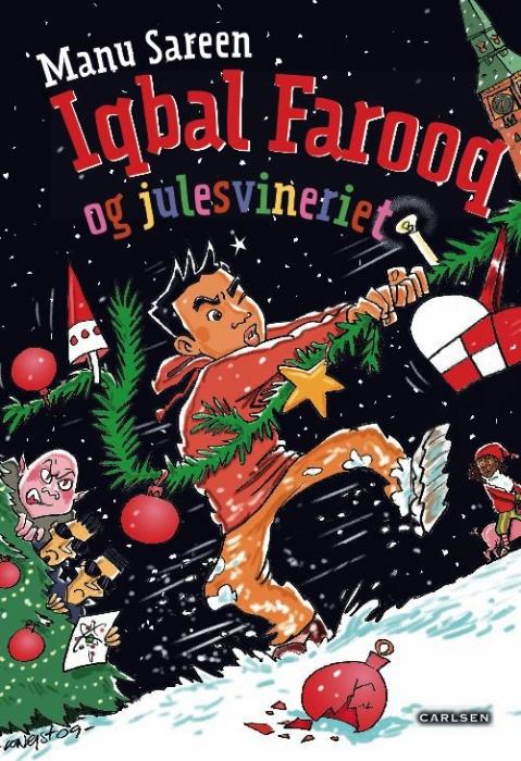Iqbal farooq og julesvineriet (e-bog) fra manu sareen på bogreolen.dk