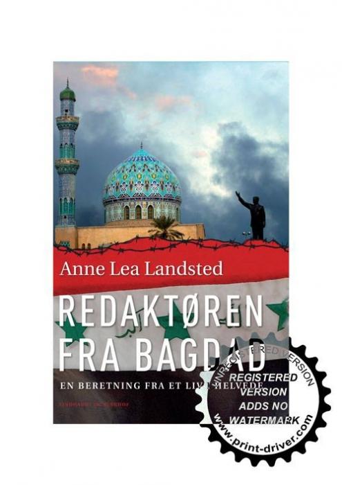 anne lea landsted – Redaktøren fra bagdad (e-bog) på tales.dk
