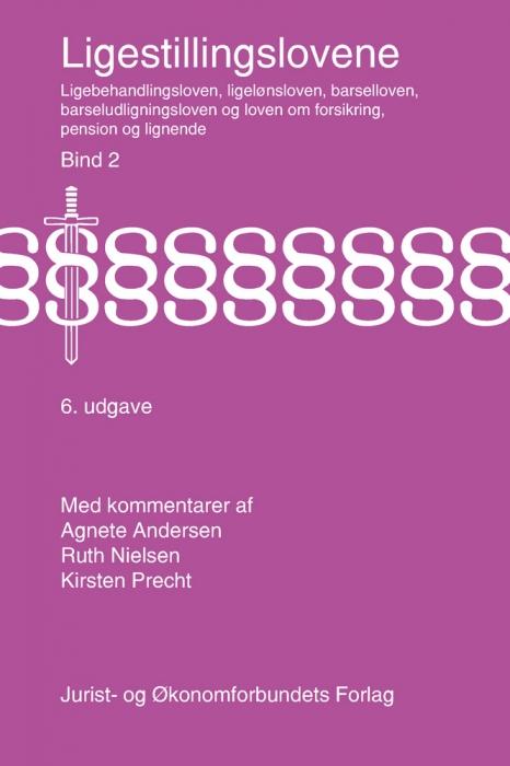 Ligestillingslovene bd. 2 (e-bog) fra ruth nielsen fra bogreolen.dk