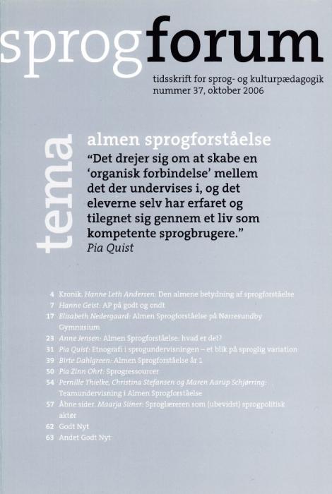 nanna bjargum Almen sprogforståelse (e-bog) fra tales.dk