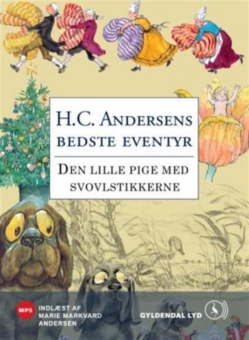 h.c. andersen – Den lille pige med svovlstikkerne (lydbog) på bogreolen.dk