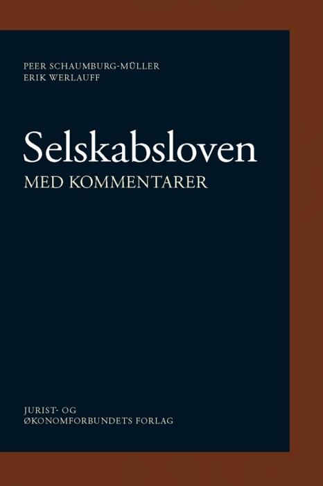 Selskabsloven (e-bog) fra erik werlauff på bogreolen.dk