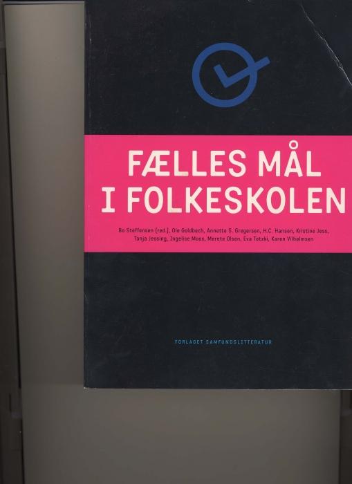 ole goldbech Fælles mål i folkeskolen (e-bog) på bogreolen.dk