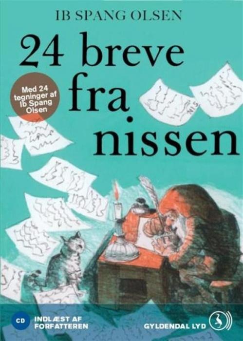 Image of   24 breve fra nissen (Lydbog)
