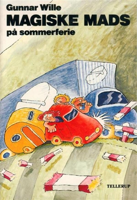 Magiske mads på sommerferie (lydbog) fra gunnar wille fra bogreolen.dk