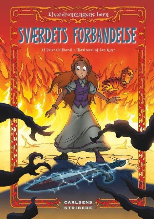 peter gotthardt – Elverdronningens børn 4: sværdets forbandelse (lydbog) fra bogreolen.dk