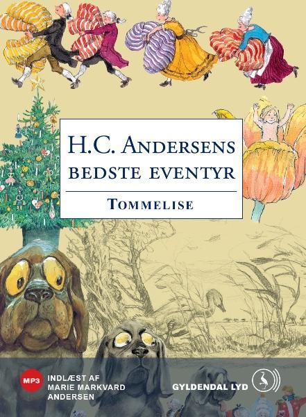 Tommelise (lydbog) fra h.c. andersen på bogreolen.dk