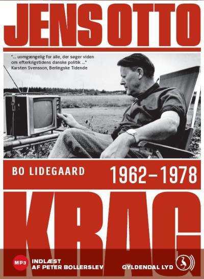 bo lidegaard Jens otto krag 1962 - 1978 (lydbog) på bogreolen.dk