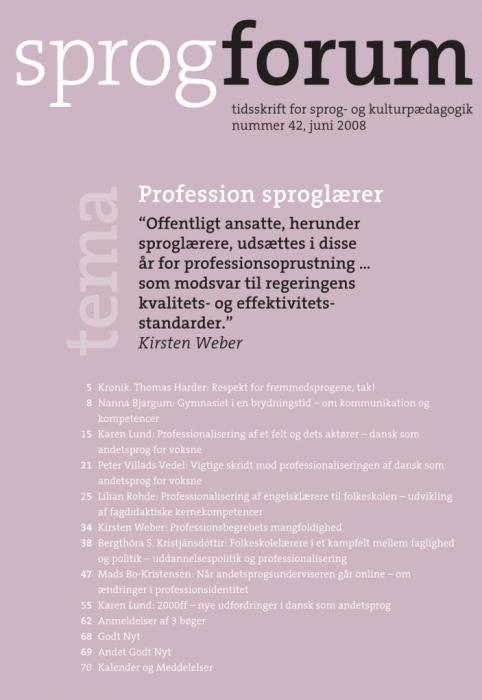 Profession sproglærer (e-bog) fra karen lund på bogreolen.dk