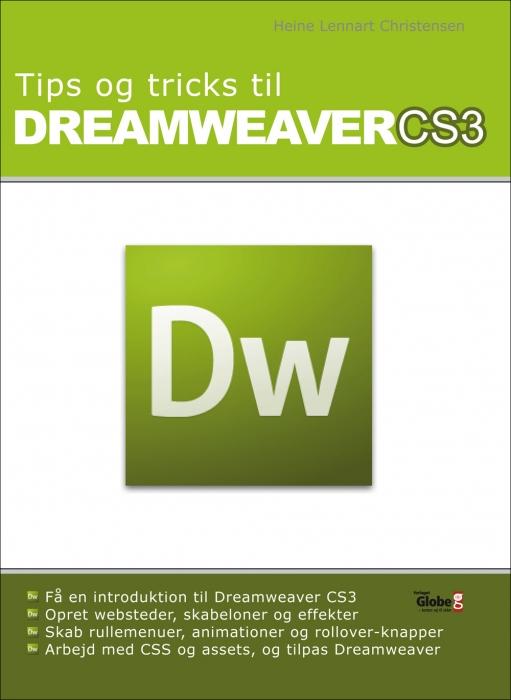 heine lennart christensen tips og tricks til dreamweaver cs3  (e-bog)