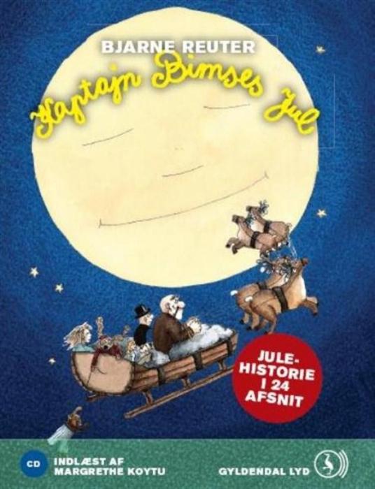 Kaptajn bimses jul (lydbog) fra bjarne reuter på bogreolen.dk