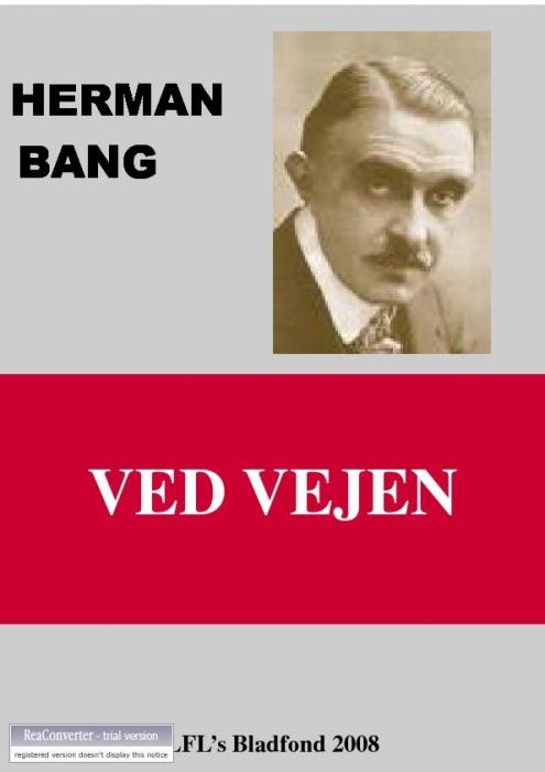herman bang – Ved vejen (e-bog) på bogreolen.dk