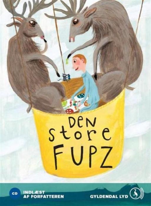 kim fupz aakeson – Den store fupz (lydbog) på bogreolen.dk