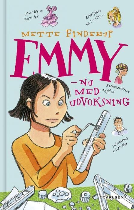 Emmy 6 - nu med udvoksning (lydbog) fra mette finderup på bogreolen.dk