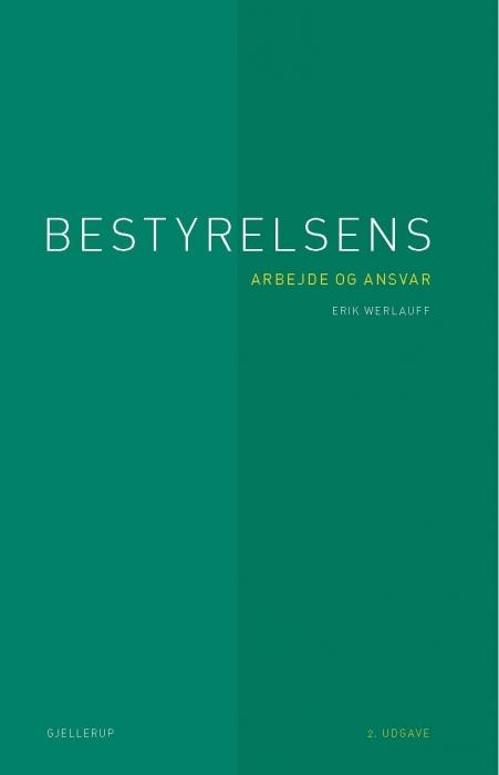 Bestyrelsens arbejde og ansvar (e-bog) fra erik werlauff fra bogreolen.dk