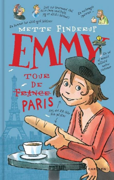 mette finderup – Emmy 7 - tour de paris (e-bog) på tales.dk