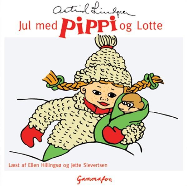 Jul med pippi og lotte (lydbog) fra astrid lindgren fra bogreolen.dk