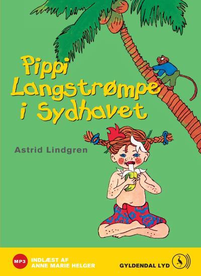 Pippi langstrømpe i sydhavet (lydbog) fra astrid lindgren på bogreolen.dk