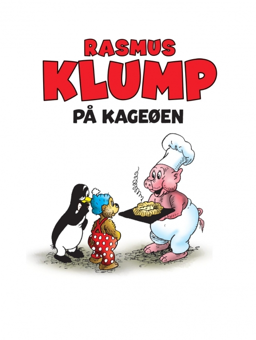 Rasmus klump på kageøen (lydbog) fra vilh. hansen fra bogreolen.dk