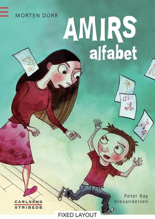 morten dürr Amirs alfabet (e-bog) på bogreolen.dk