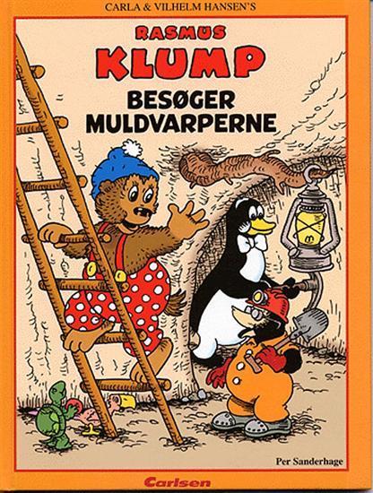 vilh. hansen Rasmus klump besøger muldvarperne (lydbog) på bogreolen.dk