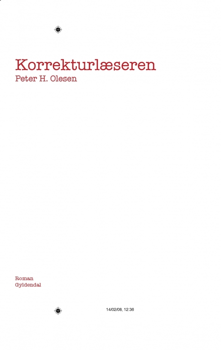 Korrekturlæseren (e-bog) fra peter h. olesen fra bogreolen.dk