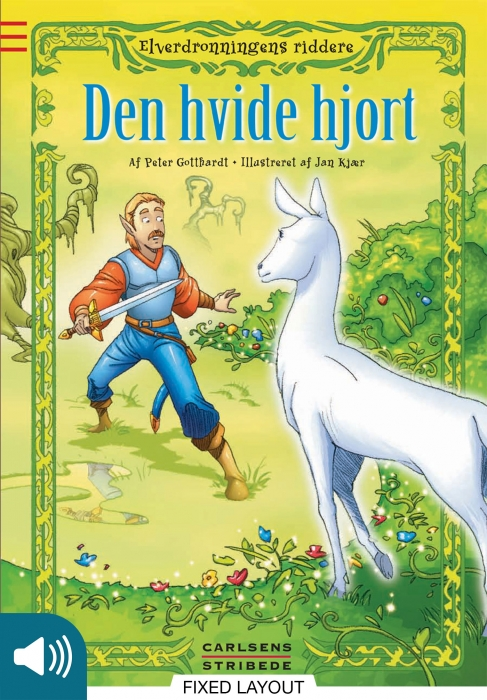 peter gotthardt elverdronningens riddere 6: den hvide hjort (e-bog)