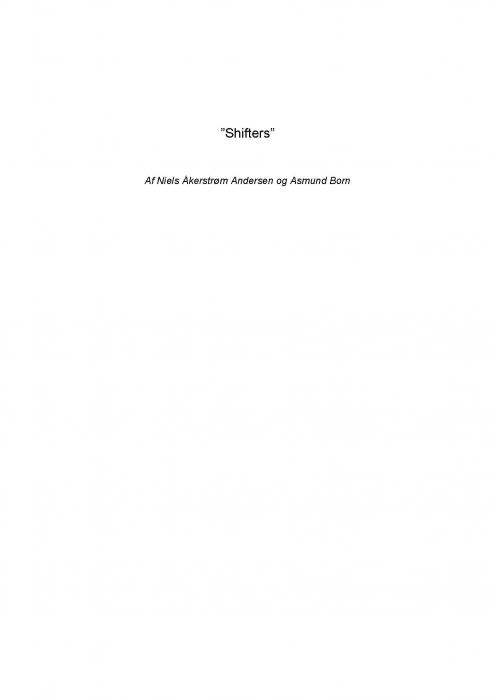 """Image of """"Shifters"""" (E-bog)"""