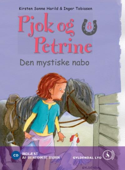 kirsten sonne harild Pjok og petrine 8 - den mystiske nabo (lydbog) fra bogreolen.dk