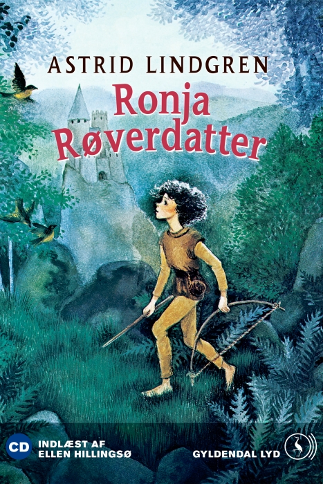 astrid lindgren Ronja røverdatter (lydbog) på bogreolen.dk