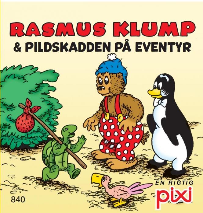 carla og vilh. hansen – Rasmus klump 2 - pilskadden på eventyr og gemmedyrene (lydbog) på bogreolen.dk