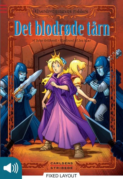Elverdronningens riddere 7: det blodrøde tårn (e-bog) fra peter gotthardt på bogreolen.dk