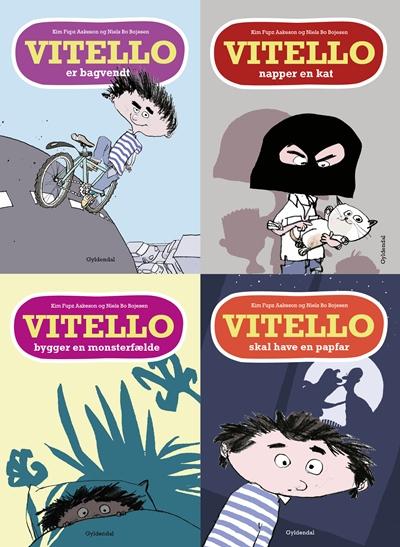 Vitello bygger en monsterfælde - og andre historier (lydbog) fra kim fupz aakeson på bogreolen.dk