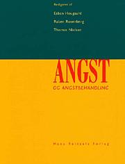 Image of   Angst og angstbehandling (E-bog)